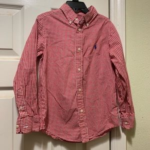 Boys Ralph Lauren Button-down shirt size 7
